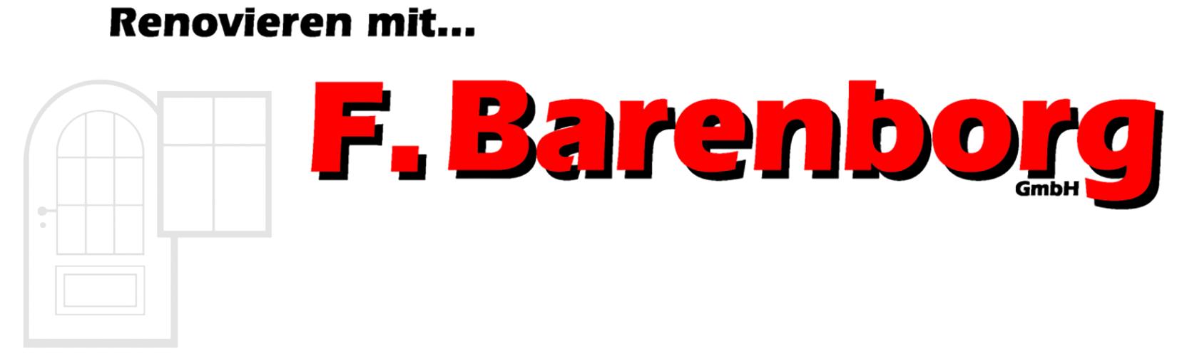F. Barenborg Shop-Logo